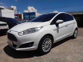 Ford Fiesta 1.6 Titanium Flex Powershift Aut. Branco 2015