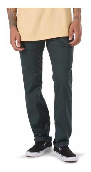Pantalón Vans V56 Standard (talla 36) Skate Hombre Slim Verd