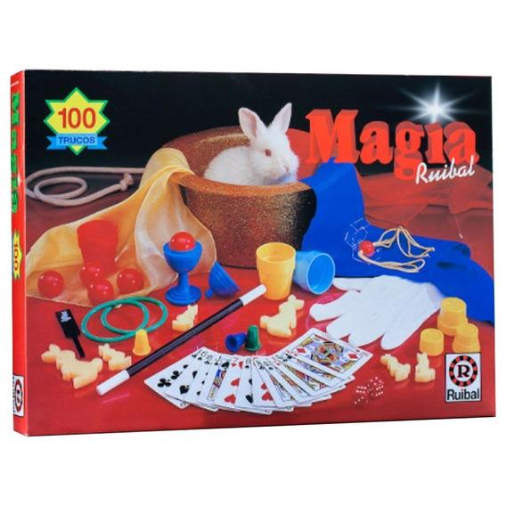 Juego De Magia Con 100 Trucos Ruibal