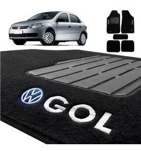Imagem 1 de 3 de Tapetes Carpete Confort Gol Geração 5/6 G5 G6 2009 A 2016