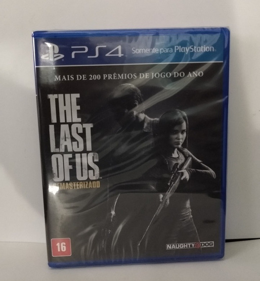 The Last Of Us Ps4 Mídia Física Lacrado