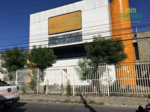 Imagem 1 de 23 de Galpão À Venda, 1156 M² Por R$ 4.000.000,00 - Centro - Fortaleza/ce - Ga0010