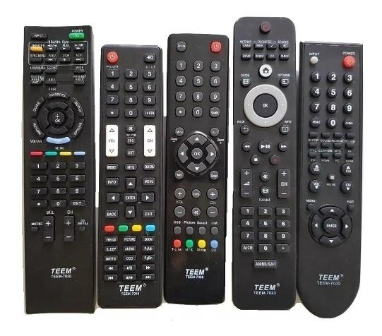 15 Pçs Controle Remoto Tv De Tubo Lcd Diversos