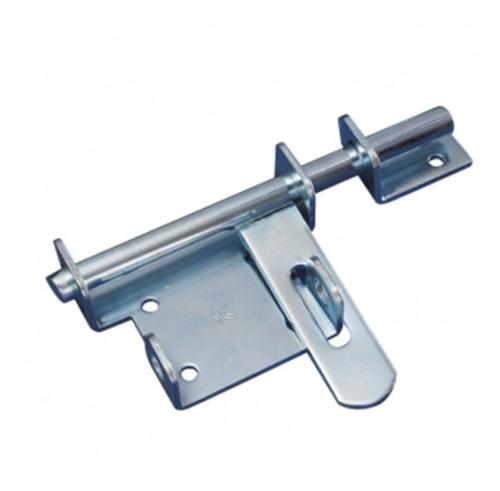 Pasador Mauser Cerrojo C/portacandado Acero Cromado 100 Mm