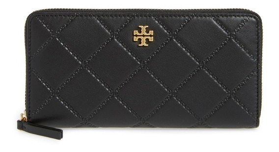 Billetera De Mujer Continental Georgia Zip Tory Burch 39962