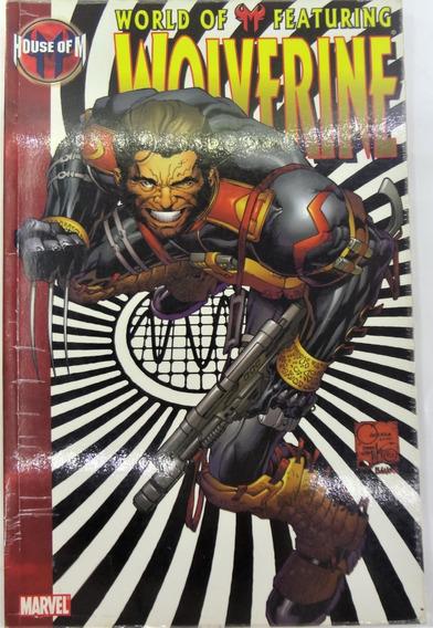 Marvel Hose Of M Wolverine Completo Ingles Casa De M