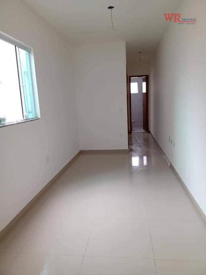 Cobertura Com 2 Dormitórios À Venda, 43 M² Por R$ 265.000 - Parque Das Nações - Santo André/sp - Co0266