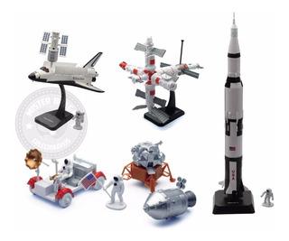 Kit De Montar Coleção Completa 4 Modelos Space Adventure
