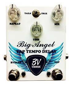 Pedal Handmade Bvtronic Big Angel Tap Tempo Delay