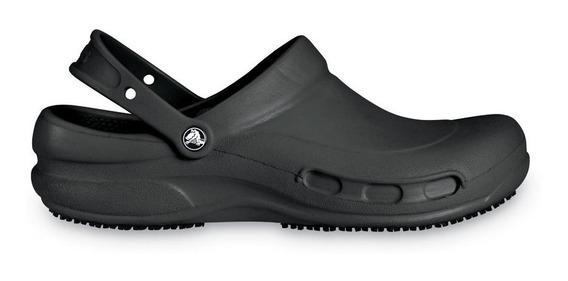 Crocs Originales Bistro Negro Unisex Hombre Mujer