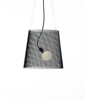 Lámpara Suspensión Cono De Metal Desplegado