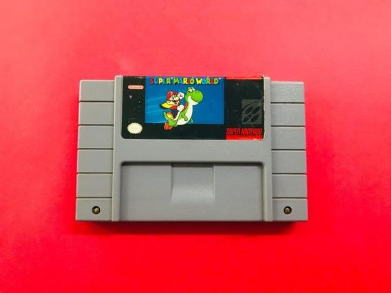 Super Mario World Original Nintendo Snes Com Garantia