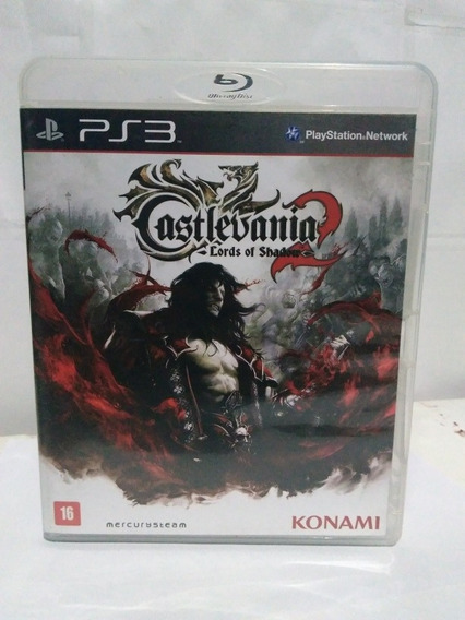Jogo Castlevania 2 Lords Of Shadow Midia Fisica Ps3 R$59,90