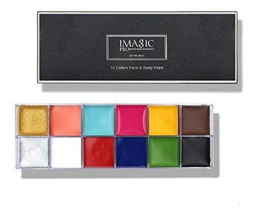 Pintura Al Oleo Para Rostro De Imagic Professional Cosmetics