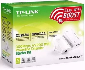 Repetidor Powerline Wifi Tp-link Tl - Wpa4220 Kit+nota Fisca