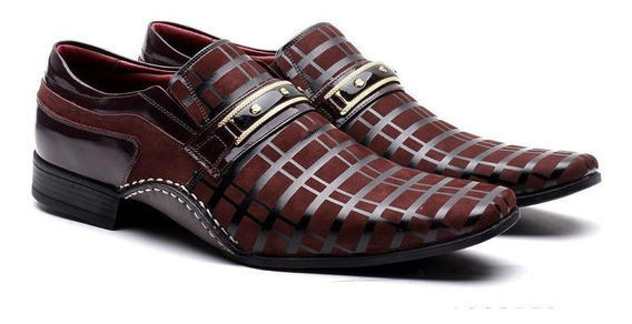 Sapato Social Masculino Artesanal Em Couro Versales