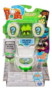 Flush Force Inodoro Set X 5 Figuras Coleccionables Original