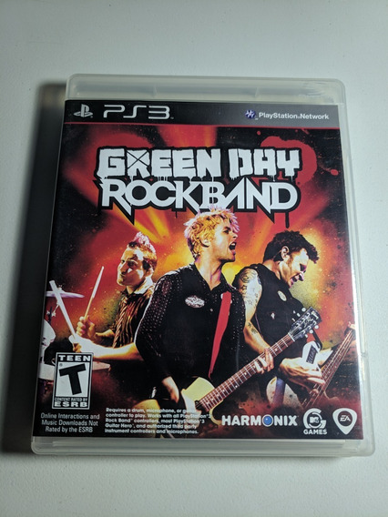 Green Day Rockband Ps3 Campinas J