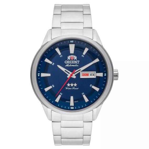 Relógio Orient Automatico Masculino Azul C/nf 469ss065 D1sx