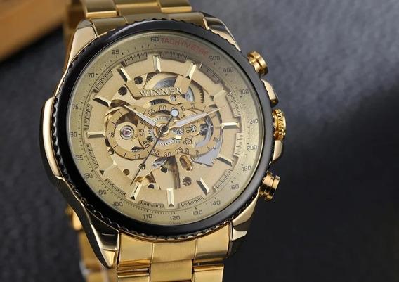 Relógios Masculinos Automático Original Esqueletizado