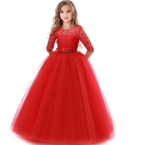 Vestido Niña Bautizo Gala Paje Princesa