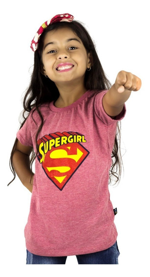 Franela Niña Momo Kids Superman Estampada Detal Mayor Oferta