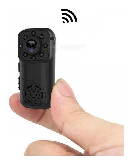 L6 Wi-fi Mini Câmera Portátil - Preto