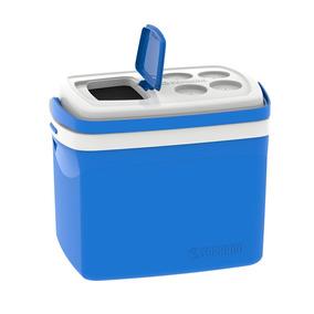 Caixa Térmica Tropical Com Alça 32 Litros Azul Soprano