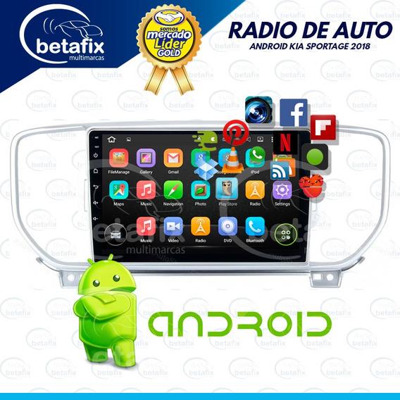 Radio Android Kia Sportage 9p Gt Xline 2016/18 Betafix Ec
