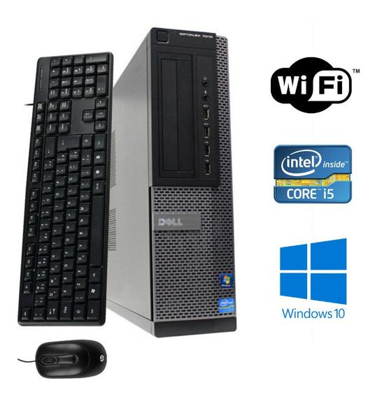 Cpu Dell Core I5 4gb Ram Hd320 Wifi Windows10 + Frete Grátis