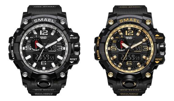 Relógio Masculino 2 Unidades A Prova D,água Top Original