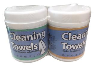 Toallas Húmedas Desinfectantes P/electrónico 30 Hum/30 Seca