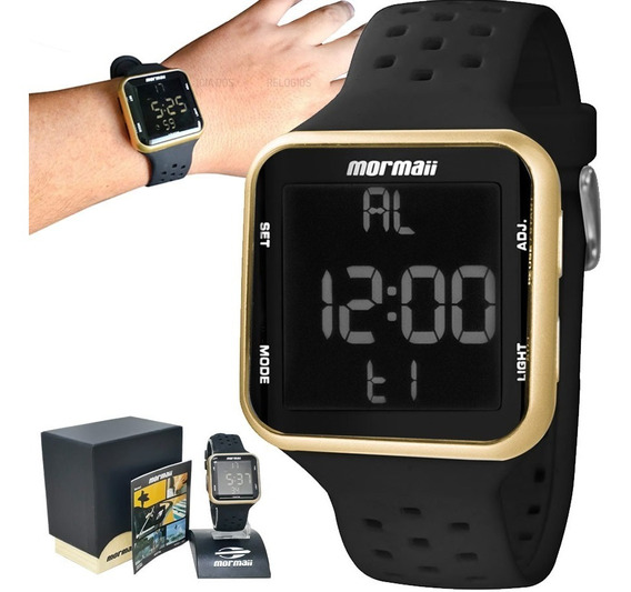 Relógio Mormaii Wave Unissex Mo6600/8d