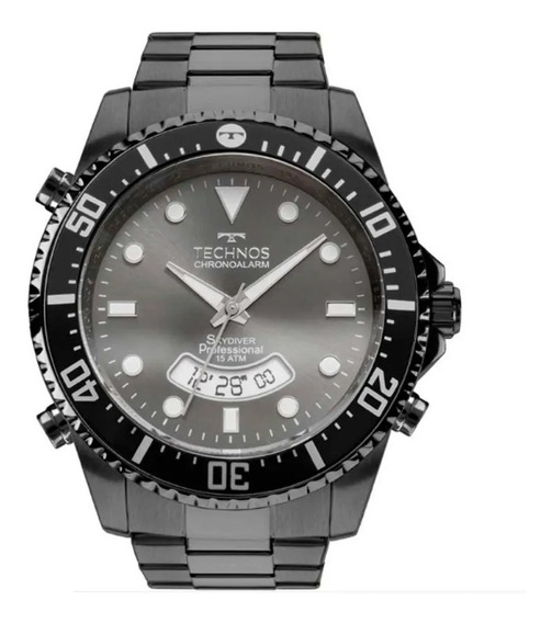 Relógio Pulso Technos Performance Skydive Masc -t0205je4p