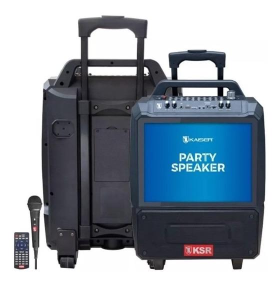 Karaoke Recargable 14 5,500 W Pmpo Con Micrófono Fiesta