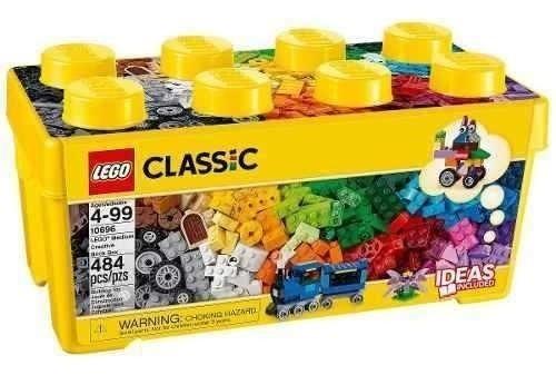 Lego Classic Caja Ladrillo De 484 Fichas 10696 Original
