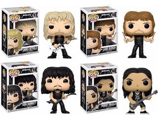 Funko Pop - Metallica - Queen - Kiss - Simpsons - Fortnite