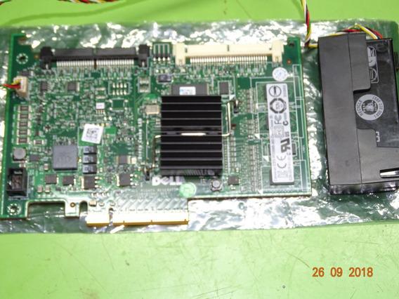 Dell Perc 6i Sas Sata Raid 256mb R710 Com Bateria