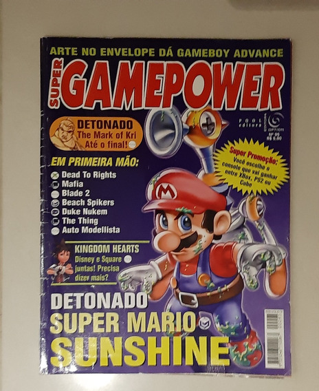 Revista Super Game Power Número 95 - Super Mario