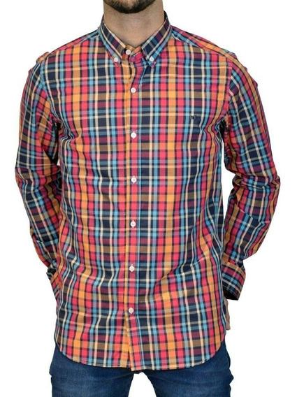Camisa Manga Larga Boris Checks Slim Fit | Mistral (13262)