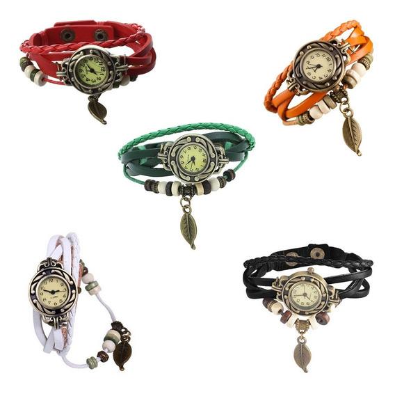 Lote 10 Relógios Femininos Vintage Revenda + Baterias Extra