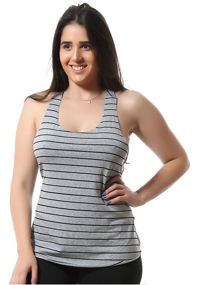 Camiseta Regata Academia Feminina Fitness Blusa 8596