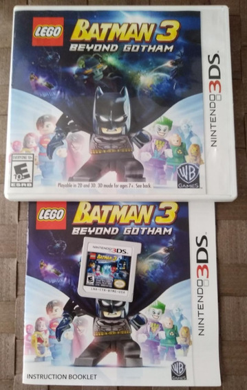 Lego Batman 3 Beyond Gotham 3ds 2ds Original Completo