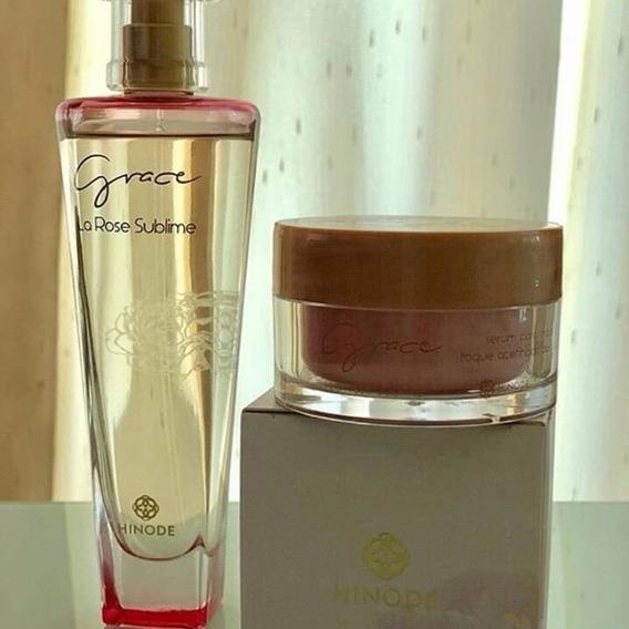 Perfume Grace La Rose E Sérum Para As Mãos