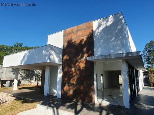 Casa A Venda No Condomínio Parque Da Fazenda - Itatiba/sp. - Ca03281 - 68068145
