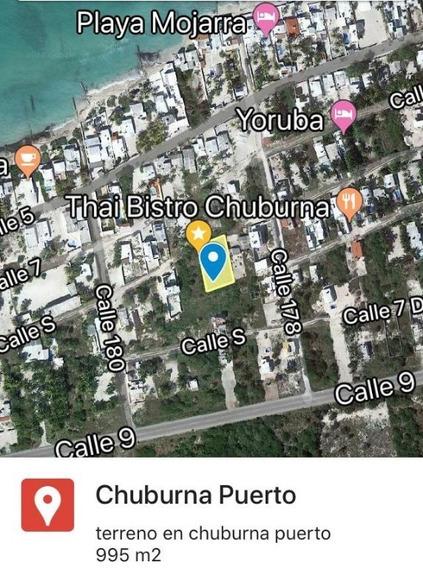 Terreno En Puerto De Chelem. A Unos Metros Del Mar.