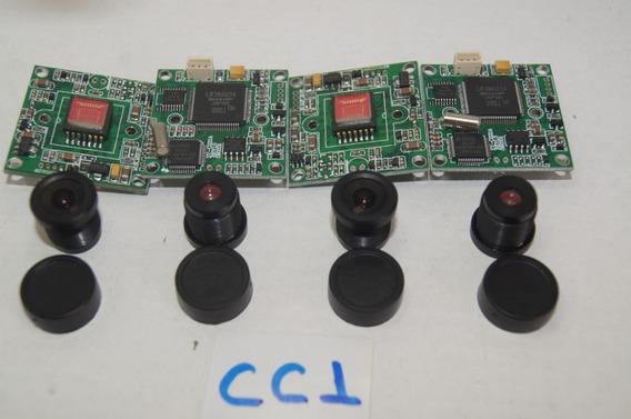 Kit Placa Mãe Mini Câmera C/ Lente 4 Unidades-1001coisas Cc1