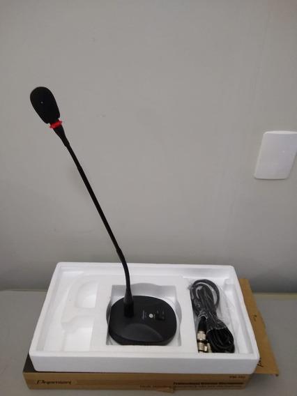 Microfone De Mesa Gooseneck Profissional Premier Pm-102