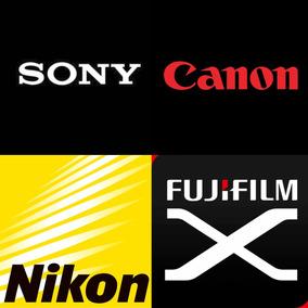 Manual Equipamentos Fotográficos Nikon-canon-sony-outros