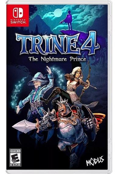Trine 4 The Nightmare Prince Switch Mídia Física Novo